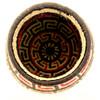 "Handmade Natural Fiber Wounaan Basket Small 2 Panama  (3.5"" tall x  4""wide)"