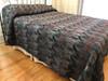 "Handmade Natural Dyed Block Print Quilt Queen 2 Bedspread India (92"" x 101"")"