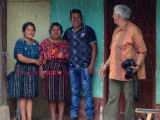 Photoshoot for Upcoming Book featuring Rug Hooking Artisans in Guatemala