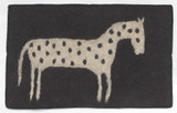 Hand Felted Wool Rugs Made by Women in Afghanistan