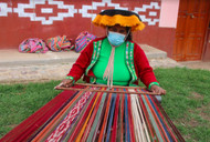 Something Old, Something New: Wool Throws From Sallac, Peru