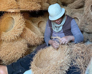 Vetiver Root Baskets From Madagascar