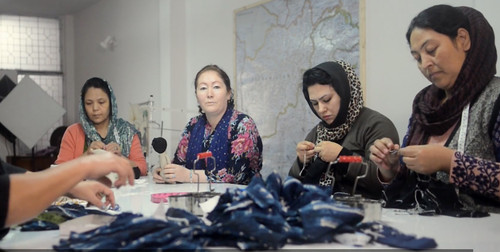 Stitching Lives Back To Freedom