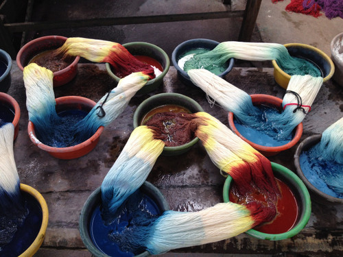 The Bamboo Scarf Weavers of Guatemala