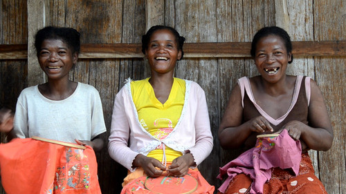 Malagasy Folktales Retold: Updated artistry from the women of Stitch St Luce, Madagascar.