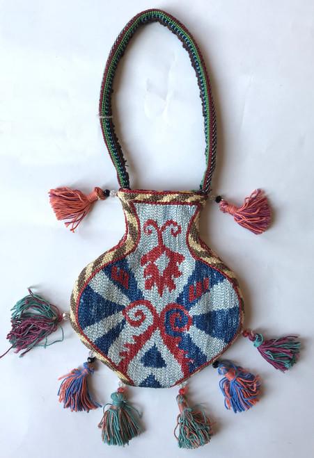 "Uzbekistan Traditional Pouch C (5"" x 6"")"