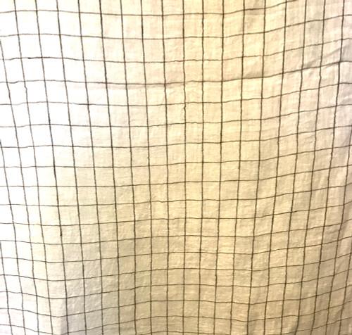 """Linen Handwoven Sheer Fabric India (50"""" wide)"""