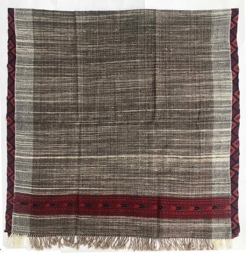 "Handwoven Yak and Wool Throw India (42"" x 86"")"