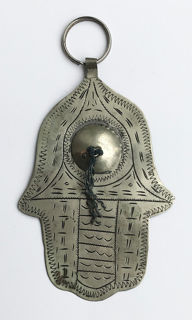 """Hand of Fatima Silver Morocco (4.5"""" x 3"""")"""