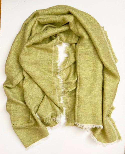 "Handwoven Soft Woolen Throw  India (54"" x 74"")"