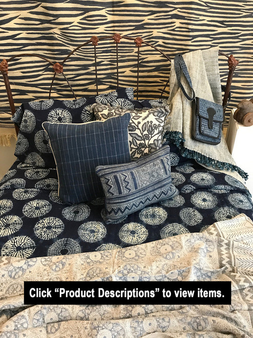 Bed Vignette 8 Items Priced Individually