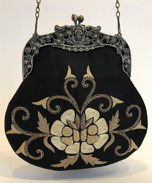 "Handmade Elegant Evening Bag 2 India (9"" x 9"")"
