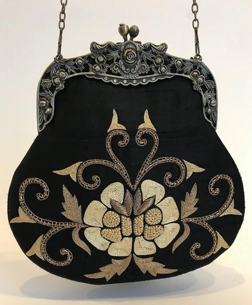 "Handmade Elegant Evening Bag 2 India (9"" x 9"")"