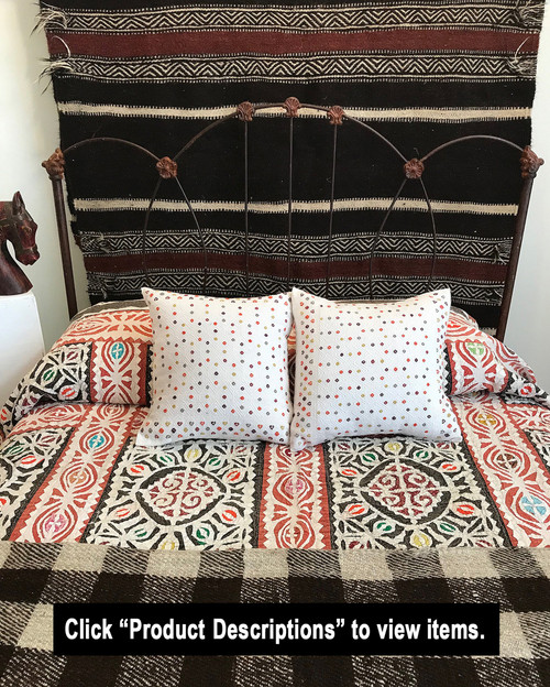 Bed Vignette 10 Items Priced Individually