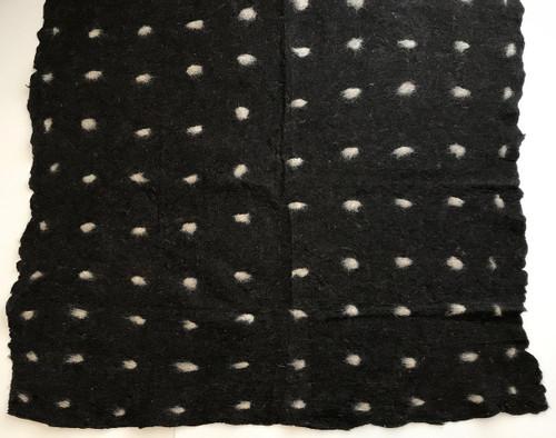 "Handmade Wool Felt Cloth A Afghanistan (55"" x 54"")"