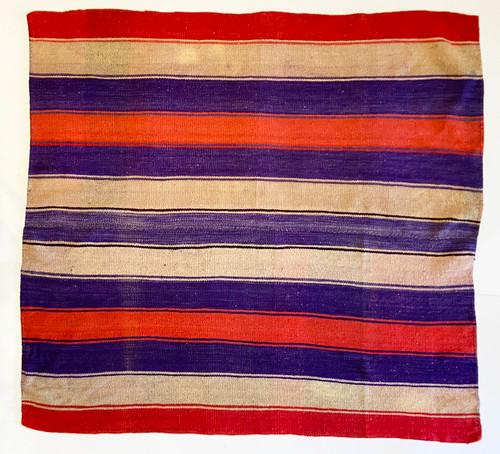 "Handwoven Woolen  Frazada Rug B-2 Peru (60"" x 63"")"