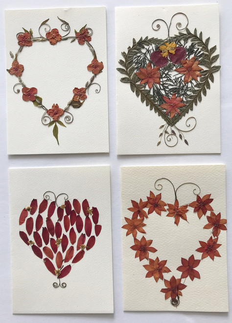 Handmade Dried Flower Gift cards El Salvador