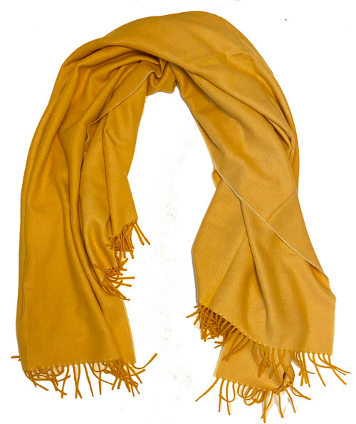 "Fine Baby Alpaca Throw Peru ( 53"" x 68) Sun kissed gold"