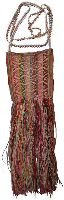 "Handwoven Woolen Traditional Coca Bag Peru (5"" x 5.5"")"
