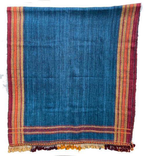 """Handwoven Handspun Woolen Throw India (38"""" x 84"""")"""