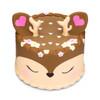 deer squishy cake
