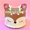 Deer Cake Squishy