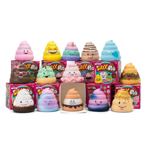 Silly Squishies Silly Poo Blind Box