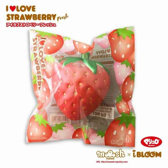jumbo ibloom strawberry squishy