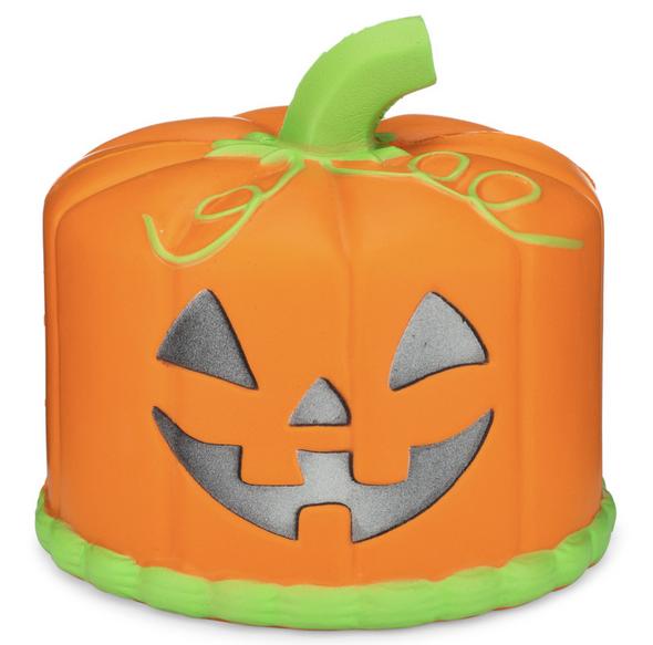 jack o lantern cake squishy
