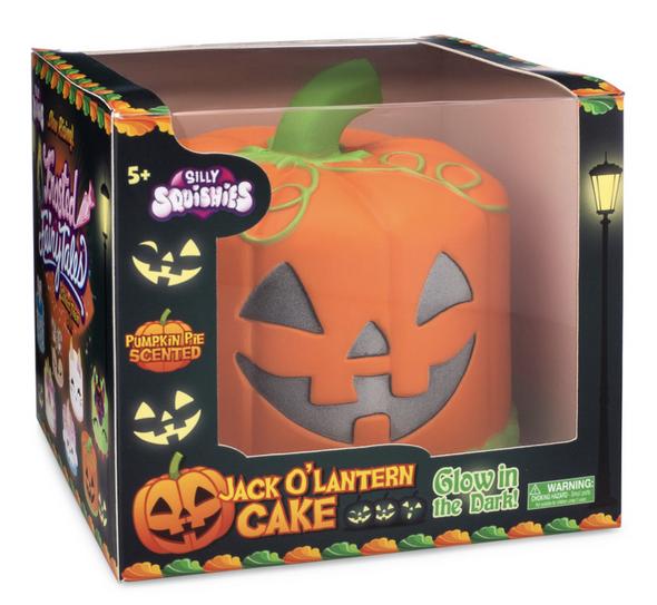 jack o lantern cake