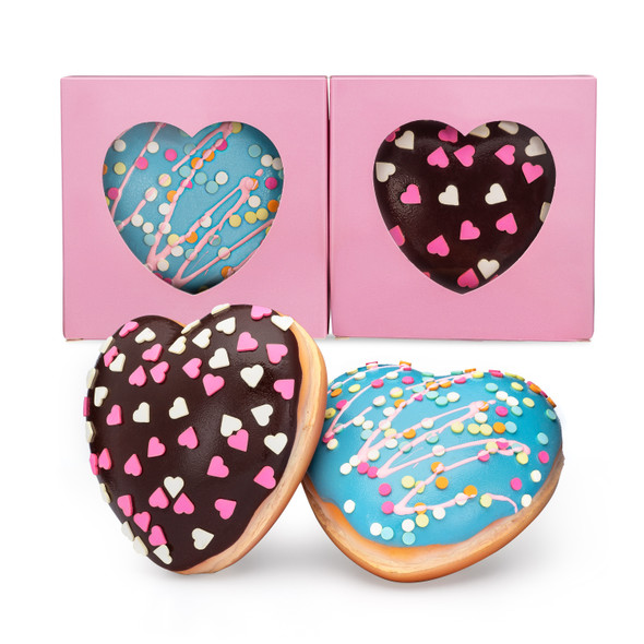 Heart Donut Squishy