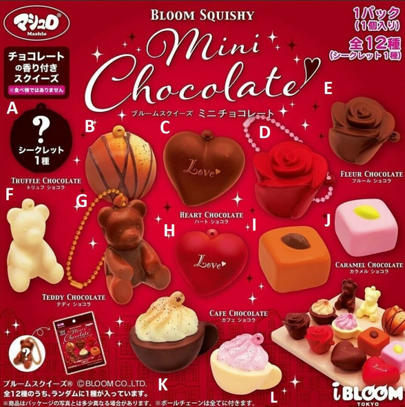 iBloom Mini Chocolate Blind Bag Squishy