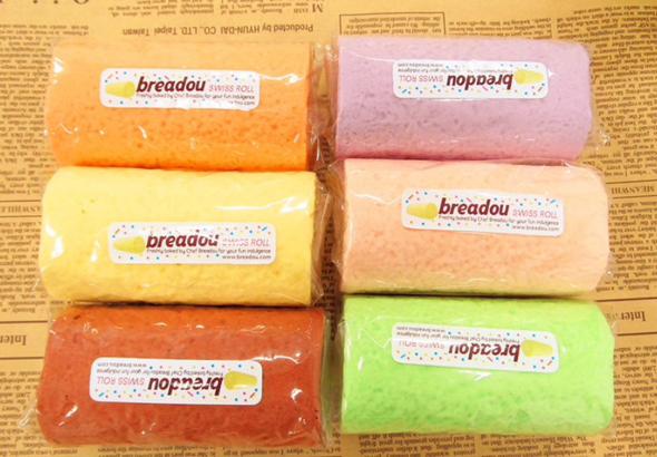 Breadou cake roll Squishy