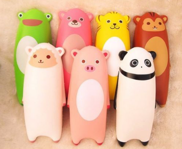 Ikiru animal squishies