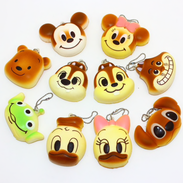 Mini Disney Character Buns