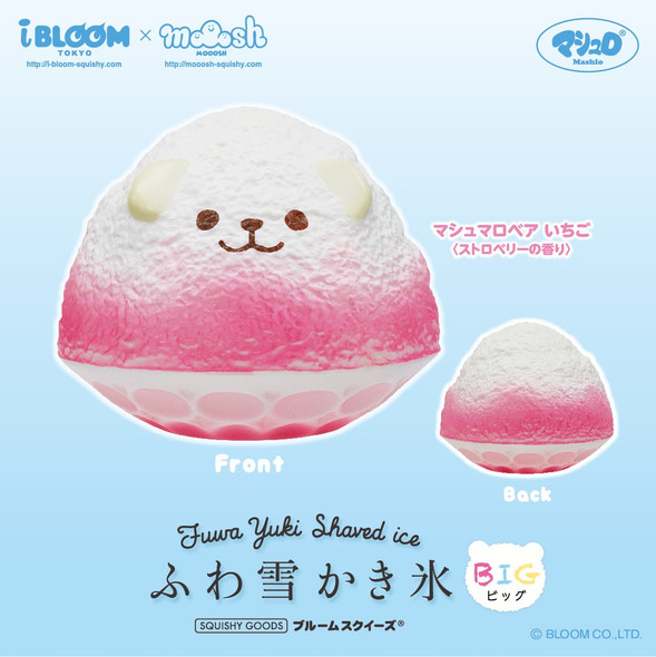 Bear Shaved ice squishy