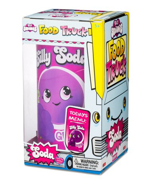Silly Squishies Grape Soda