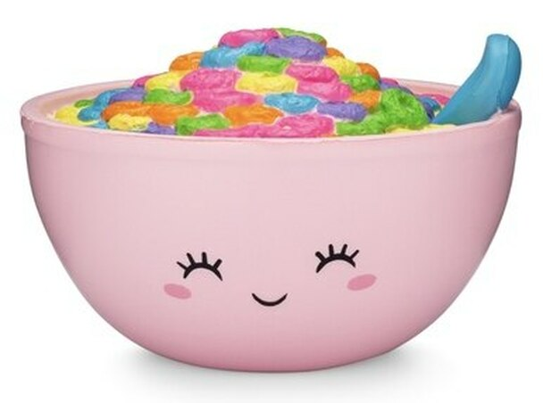 Silly Loops Cereal Bowl Squishy