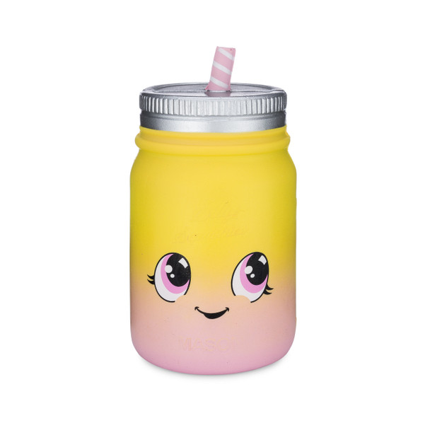Pink Lemonade Mason Jar Squishy