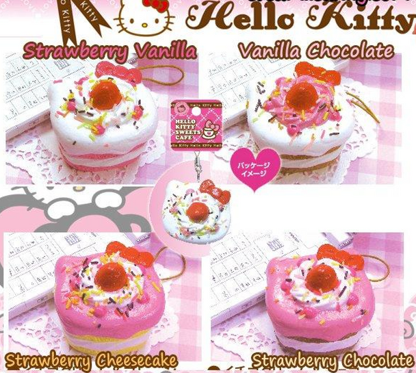 Hello Kitty Shortcake Squishy