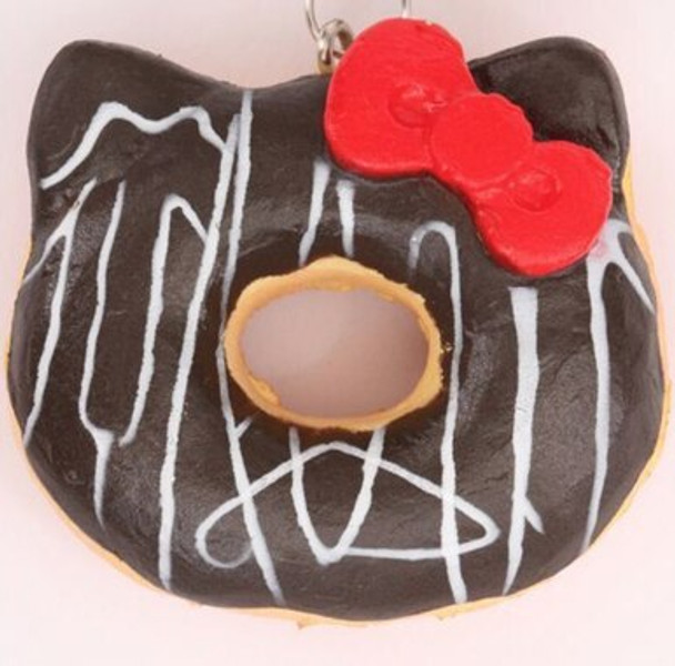 Mini Hello Kitty Donuts - Chocolate