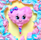 Silly Squishies - Ms Sugar Cotton Candy Squishy