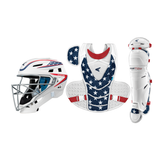 Easton Jen Schro The Very Best Catcher's Set Stars and Stripes Adult