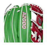 """2021 Wilson A2000 1786 Mexico 11.5"""" Infield Baseball Glove - Limited Edition"""