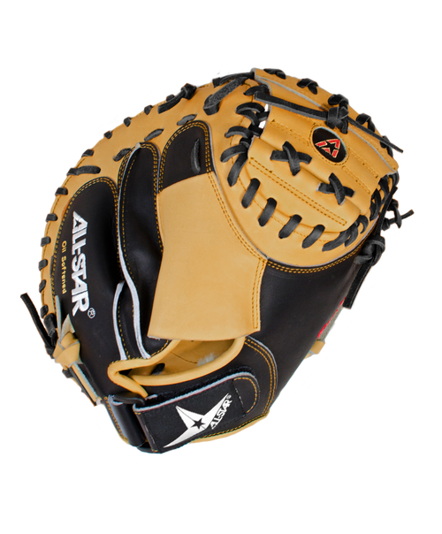 "All-Star 33.5"" Adult PRO ADVANCED™ Catcher's Mitt"