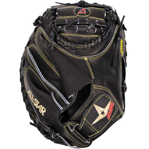 All-Star Adult Solid Black PRO-ELITE® Catcher's Mitt