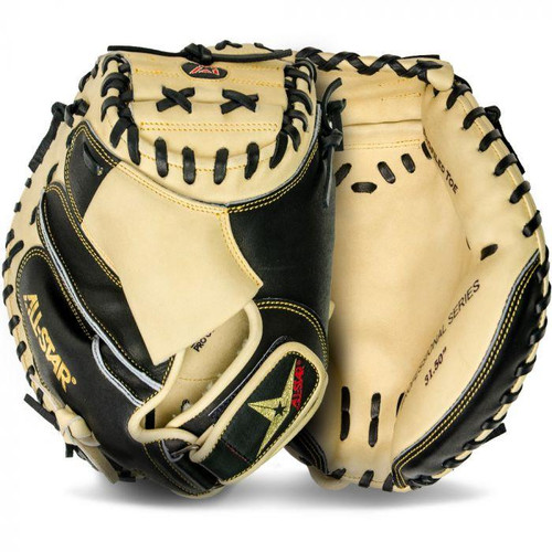 "All-Star 31.5"" PRO-ELITE® TRAVEL BALL Catcher's Mitt CM3000BTJR"