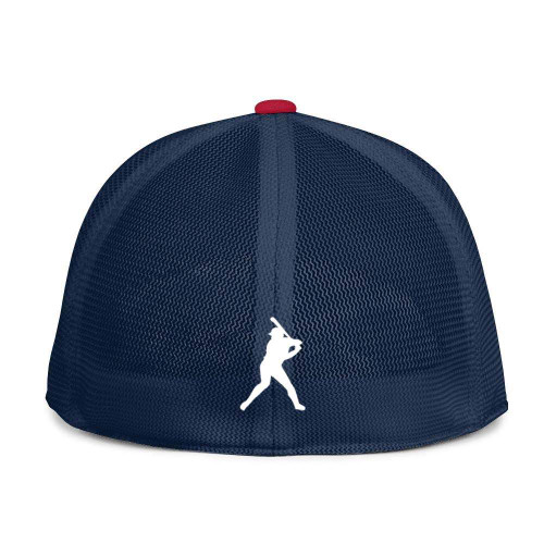 Red White and Blue Fitted BC Hat