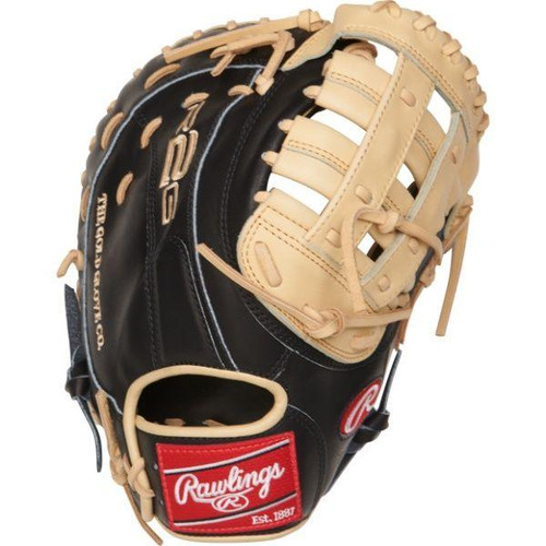 """Rawlings 12.5"""" Heart of the Hide R2G Series First Base Mitt"""