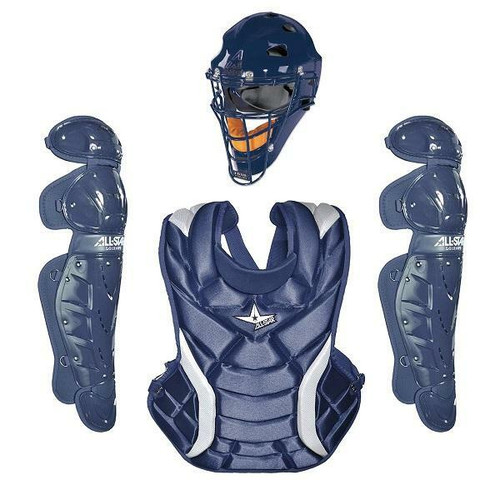 """All-Star Fastpitch Series™ Short 12.5"""" CKW12.5PS Catching Kit - Navy"""